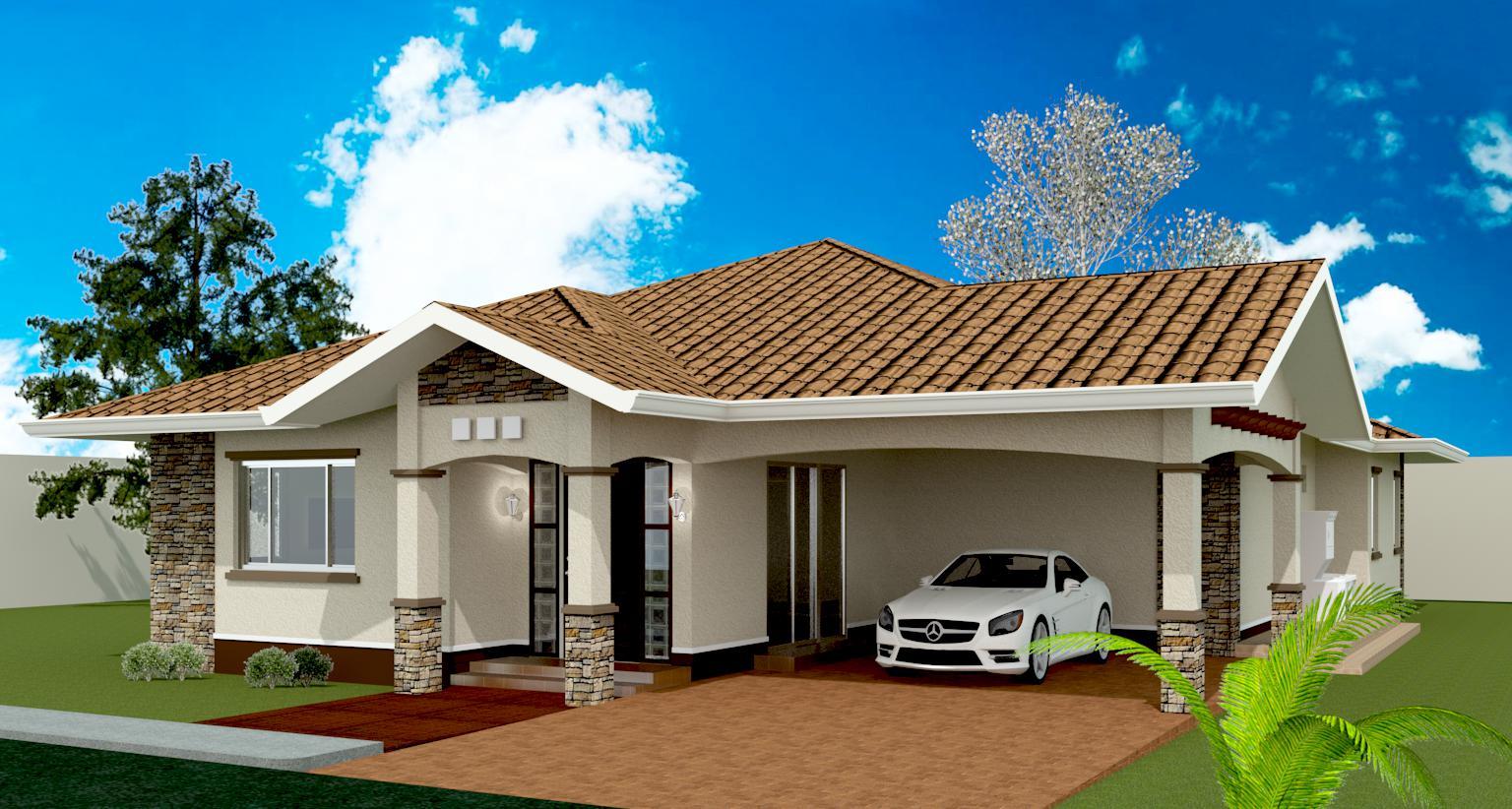 MODEL 3-3 BEDROOM BUNGALOW DESIGN - Negros Construction