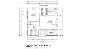 model 3 floor plan 2