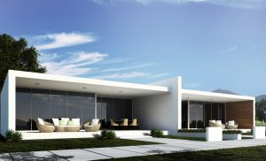 one story one bedroom modern home