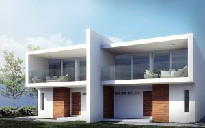two story two bedroom minimalist home