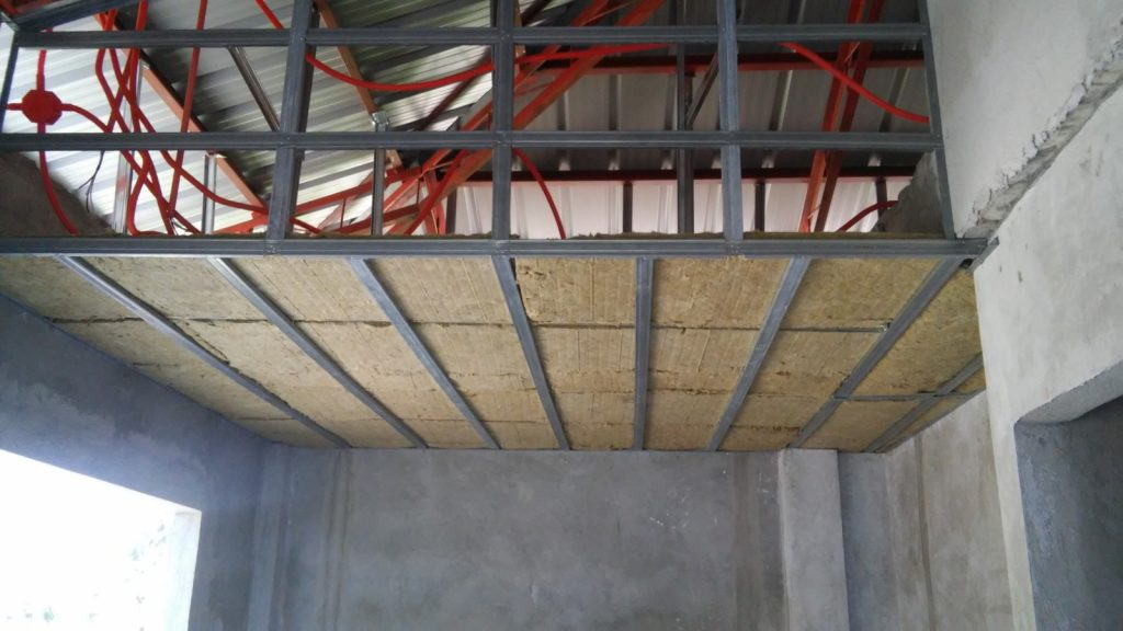 CEILING AND INSULATION