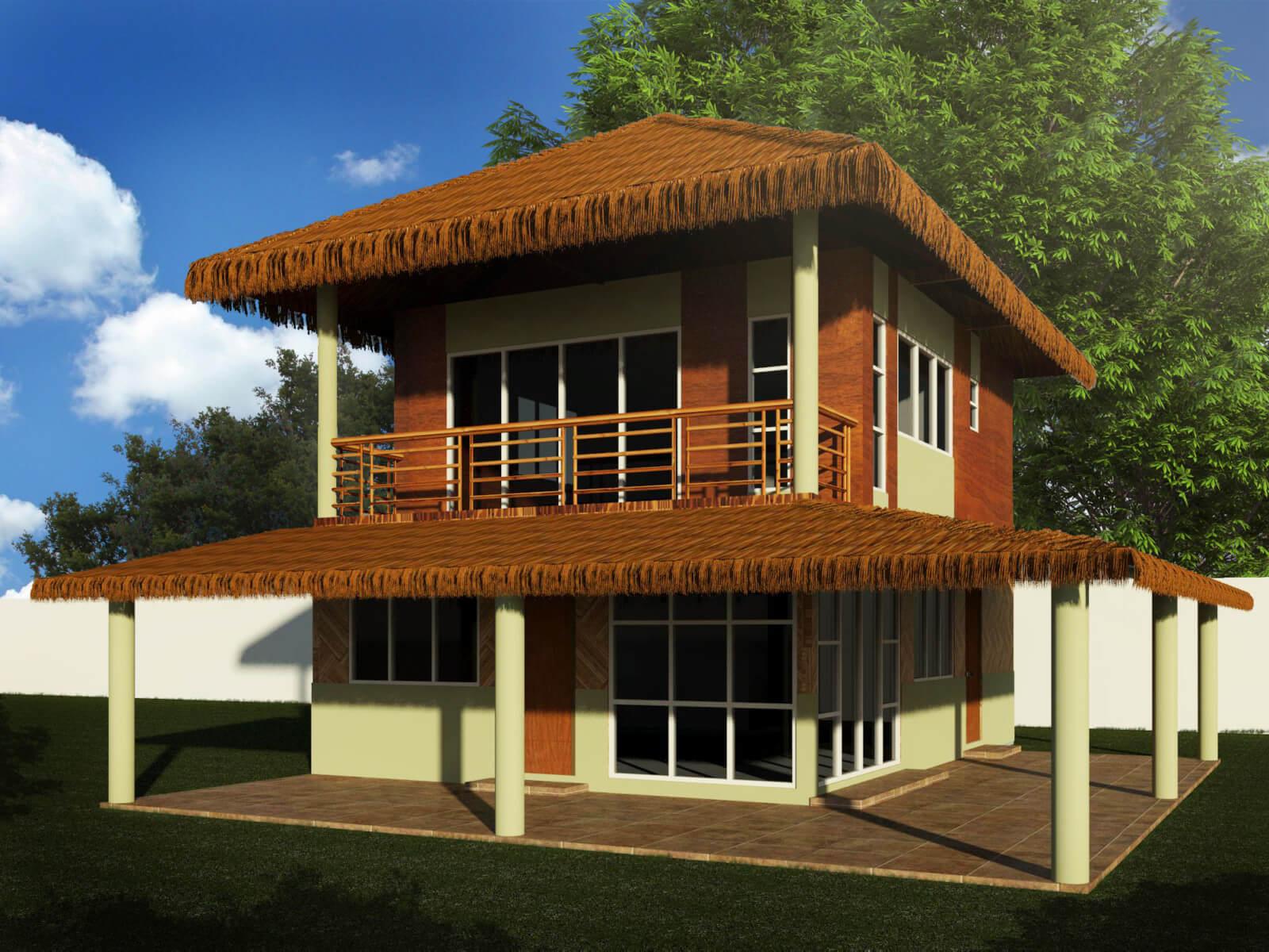 Modern House Amakan : Simple Mediterranean Style House ...