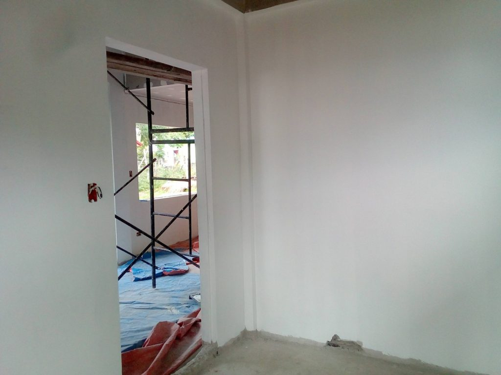 TAPING , SANDING AND PAINTING