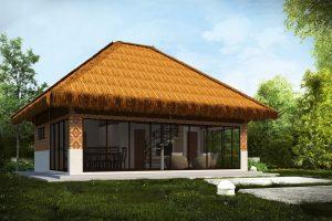 MODEL 4 - One Bedroom Single Story Modern Home