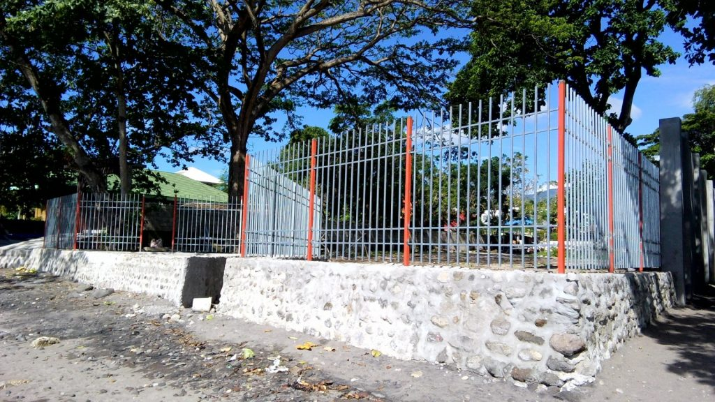 SEA WALL CONSTRUCTION AND FENCING